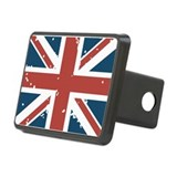 Union Jack Flag Hitch Cover