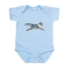 Blue Merle Sheltie Infant Bodysuit