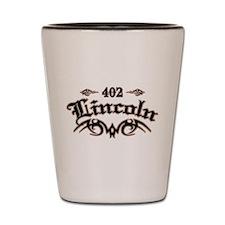 Lincoln 402 Shot Glass