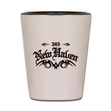 New Haven 203 Shot Glass