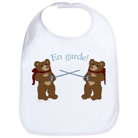 Teddy Bear Fencers Bib