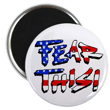 "Fear This! 2.25"" Magnet (100 pack)"