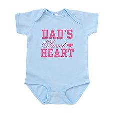 Dads Sweetheart Infant Bodysuit