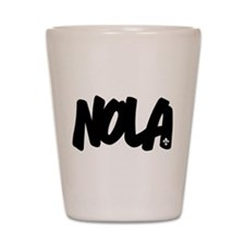 NOLA Brushed Shot Glass