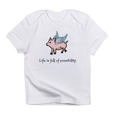 Flying Pig Infant T-Shirt