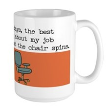 Spin Chair Coffee Mug