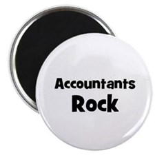 ACCOUNTANTS Rock Magnet