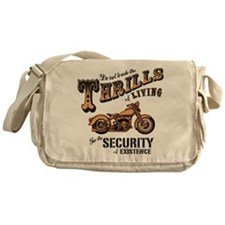 Thrills of Living II Messenger Bag