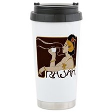 Cafe Lady Ceramic Travel Mug