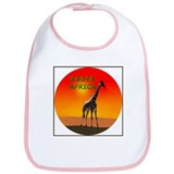 Giraffe South Africa Bib