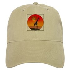Giraffe South Africa Baseball Cap