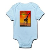 Giraffe South Africa Infant Creeper