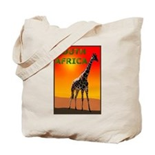 Giraffe South Africa Tote Bag