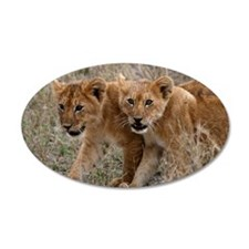 Lion Cubs Wall Decal