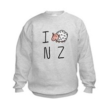I Heart NZ - Cute Sheep Sweatshirt