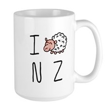 I Heart NZ - Cute Sheep Mug