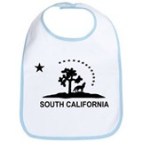 Flag of South California Bib