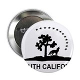 "Flag of South California 2.25"" Button"