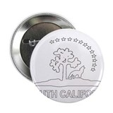 "South California Flag 2.25"" Button"