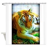 Exotic Tiger Shower Curtain