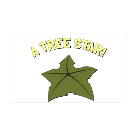 A Tree Star! 35x21 Wall Decal