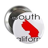 "South California Red State 2.25"" Button"