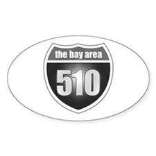 Interstate 510 Oval Decal