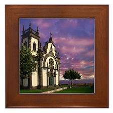 Alto de Mae de Deus Framed Tile