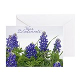 Texas bluebonnets Greeting Cards (Pk of 10)