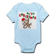 FirstChristmasMonkey Body Suit