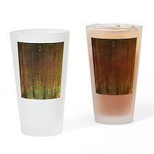 Gustav Klimt Tannenwald II Drinking Glass