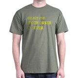 Gun owner or victim T-Shirt