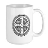 Mug with Medal of St. Benedict