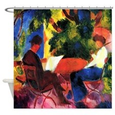 Macke Couple At The Garden Shower Curtain