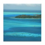 Blue Waters Tile Coaster