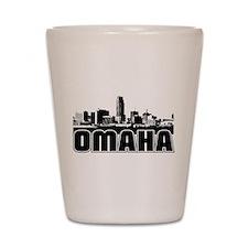 Omaha Skyline Shot Glass
