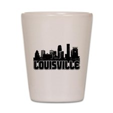 Louisville Skyline Shot Glass