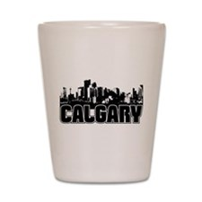 Calgary Skyline Shot Glass