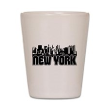 New York Skyline Shot Glass
