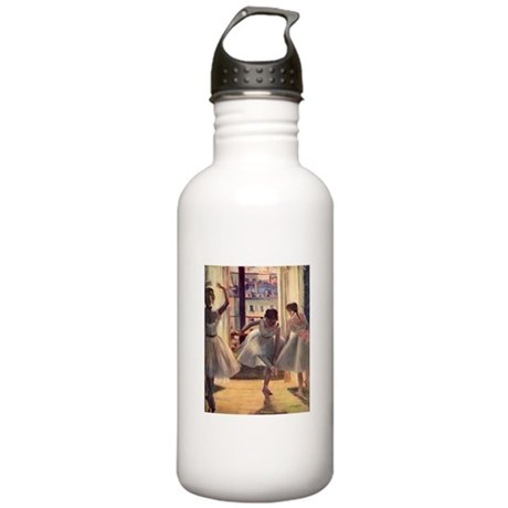 Edgar Degas Three Dancers Stainless Water Bottle 1