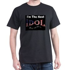 NEW! <br>Next Idol Black T-Shirt