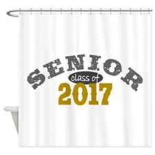 Senior Class of 2017 Shower Curtain