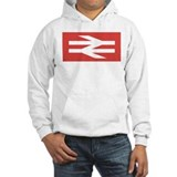 British Rail Logo Jumper Hoody