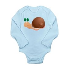 Cute and Cuddly Baby Snake Long Sleeve Infant Body