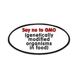Say no to GMO - Patches