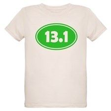 13.1 Oval - Lime Green T-Shirt