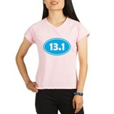 13.1 Oval - Sky Blue Performance Dry T-Shirt