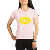 13.1 Oval - Yellow Performance Dry T-Shirt