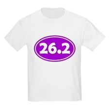 26.2 Oval - Purple T-Shirt