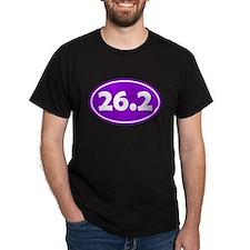 26.2 Oval - Purple T-Shirt